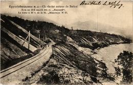 CPA Ch-de-fer Aoutour De BAIKAL No. 20. La Route A 28 RUSSIA (a4132) - Rusia