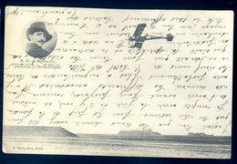 Cpa  Avion Aviateur M.O. De Montalent Professeur à L' école Bréguet   Sep17-80 - Airmen, Fliers