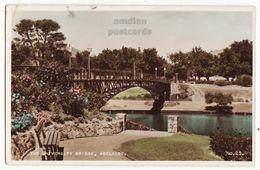 AUSTRALIA ADELAIDE (SA), University Bridge C1940s Vintage Valentine Real Photo Postcard RPPC - Adelaide