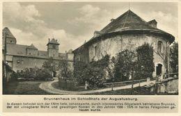 Brunnenhaus Im Schlosshofe Der Augustusburg (002572) - Augustusburg