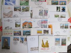 Europa 1977 Enveloppes Premier Jours  ; Annee Complete 27 Enveloppes - Europa-CEPT