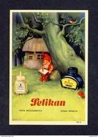 Buvard PELIKAN Num.1911 R. Encre, Gnomes (Ref. 99696) - Blotters