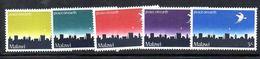 Y2074 - MALAWI , Peace On Earth  N. 118/122  *** - Malawi (1964-...)