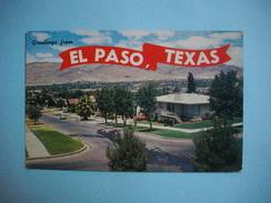 EL PASO  -  Mount Franklin   -  Etats Unis - El Paso