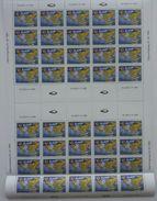 1992 Aland. Sailboat. Congress Of Travellers/ Full Sheet (5x8)  ** - Aland
