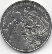 ST HELENA + ASCENSION - 50 Pence  ( Napoléon ) - Saint Helena Island