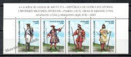 Equatorial Guinea - Guinée Équatoriale 2002 Edifil 288-91, Military Uniforms - MNH - Guinée Equatoriale