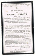 Maldegem - Kleit : 1910, Camiel Landuyt ( 2 Scans ) - Andachtsbilder
