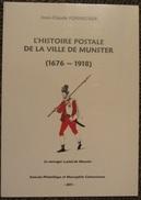 Histoire Postale De La Ville De Munster (1676-1918) - Matasellos