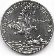 SOLOMON  ISLANDS  - 1 Dollar  ( Aigle Pêcheur ) - Salomon