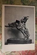"Mongolia. ""taming Of A Horse""  Old Postcard 1960 - Mongolia"