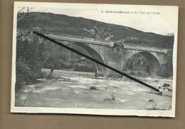 CPA Coupée - Alet Les Bains - Le Pont Sur L'Aube - Autres Communes