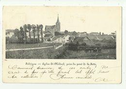 Jodoigne   *  Eglise St.-Médard, Prise Du Pont De La Fette - Jodoigne