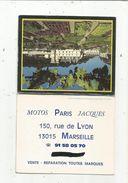Calendrier , Petit Format ,1993, MOTOS PARIS JACQUES , Marseille , 3 Scans - Calendriers