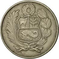 Pérou, 100 Soles, 1980, Lima, TTB, Copper-nickel, KM:283 - Pérou