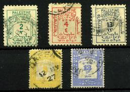 1720- Palestina Nº 2/3, 5, 7, 10 - Palestina