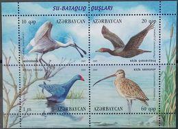Azerbaijan, 2009, Mi. 773-76 (bl. 86), Birds, MNH - Azerbaijan