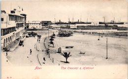 ASIE -- YEMEN -- ADEN  - The  Crescent & Harbour - Yemen