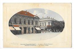 SERBIE - KIKINDA - Udvözlet Nagykikindàro Ferencz Jozseph-tér -  - L 1 - Serbie