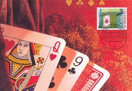 D32253 CARTE MAXIMUM CARD FD 2001 NETHERLANDS - PLAYING CARDS CP ORIGINAL - Other