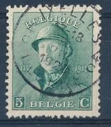 """BELGIE - OBP Nr 167 - Albert I - Cachet  """"IXELLES-ELSENE 4"""" Litt. C - (ref. ST-718) - 1919-1920 Roi Casqué"""