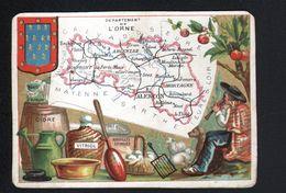 CB, PARIS, Departement De L'Orne - Trade Cards