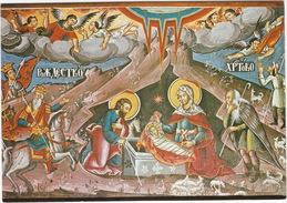 The Monastery Of Saint Jovan Bigorski - The Nativity, Fresco (monk's Dining Hall) - (Macedonia) - Macedonië