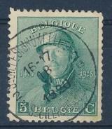 """BELGIE - OBP Nr 167 - Albert I - Cachet  """"ST-GILLES (BRUXELLES) - ST-GILLIS (BRUSSEL) 2"""" Litt. B - (ref. ST-719) - 1919-1920 Albert Met Helm"""