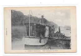 CONGO FRANCAIS : Petit Remorqueur De Rivière, - French Congo - Other