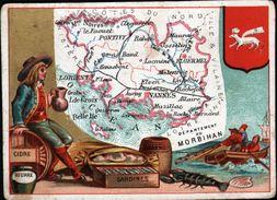 CB, PARIS, Departement Du Morbihan - Trade Cards