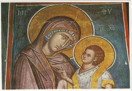 The Monastery Of Decani - Madonna And Child, Fresco 14th Century - (Kosovo) - Kosovo