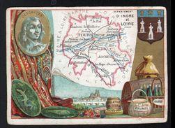 CB, PARIS, Departement D'Indre Et Loire - Trade Cards