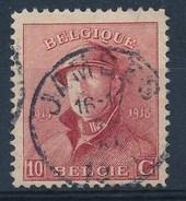 """BELGIE - OBP Nr 168 - Albert I - Cachet  """"JAMBES"""" - (ref. ST-721) - 1919-1920 Albert Met Helm"""