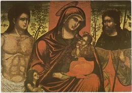 Trogir - Benedictine's Convent : Madonna With Saints - XV Century - School Of Blaz Jurjevic - (Croatia) - Kroatië