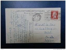 44/352  CP  POUR LA BELG.  1926 - 1922-26 Pasteur