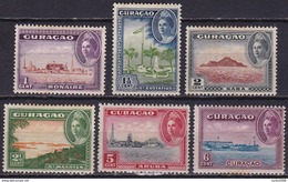 Curacao 1943 Eilanden Complete Ongestempelde Serie NVPH 158 / 163 - Curacao, Netherlands Antilles, Aruba