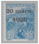 MONACO -- Y & T N°40 -- CHARNIERE -- COTE 15€ - Monaco