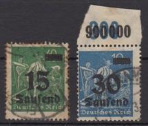 Deutsches Reich / Freimarken: Teil- Oder Neuauflagen Von Marken, Arbeiter /  MiNr.: 279, 284 - Deutschland