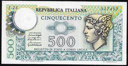 Italia/Italy/Italie: 500 Lire Mercurio - 500 Lire
