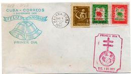 Carta De 1951 Feliz Navidad. - Cuba