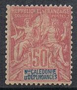 NOUVELLE-CALEDONIE N°51 N* - Neukaledonien