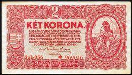 Ungheria/Hungary/Hongrie: 2 Corone - Ungheria