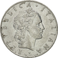 Italie, 50 Lire, 1955, Rome, TTB+, Stainless Steel, KM:95.1 - 1946-… : Republic