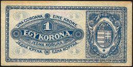 Ungheria/Hungary/Hongrie: 1 Corone - Ungheria