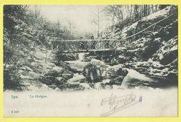 * Spa (Liège - Luik - La Wallonie) * (C. Debrus, F3227) La Hoëgne, Animée, Bois, Pont, Bridge, Bos, Canal, TOP, Rare - Spa