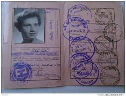 D154352  Hungary MÁV GYSEV Students  50% Discount Certificate For Train Tickets  Debrecen -Törökszentmiklós 1958 - Europe