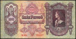 Ungheria/Hungary/Hongrie: 100 Pengo - Ungheria