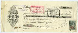 CHEQUE : LEVY HASS & CIE., ELBEUF, 1919 - Chèques & Chèques De Voyage