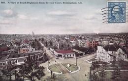 BIRMINGHAM, ALABAMA. -  A View Of South Highlands From Terrace Court - Etats-Unis