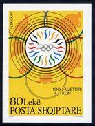 ALBANIA 1995 Olympic Committee Block MNH / **.   Michel Block 103 - Albania